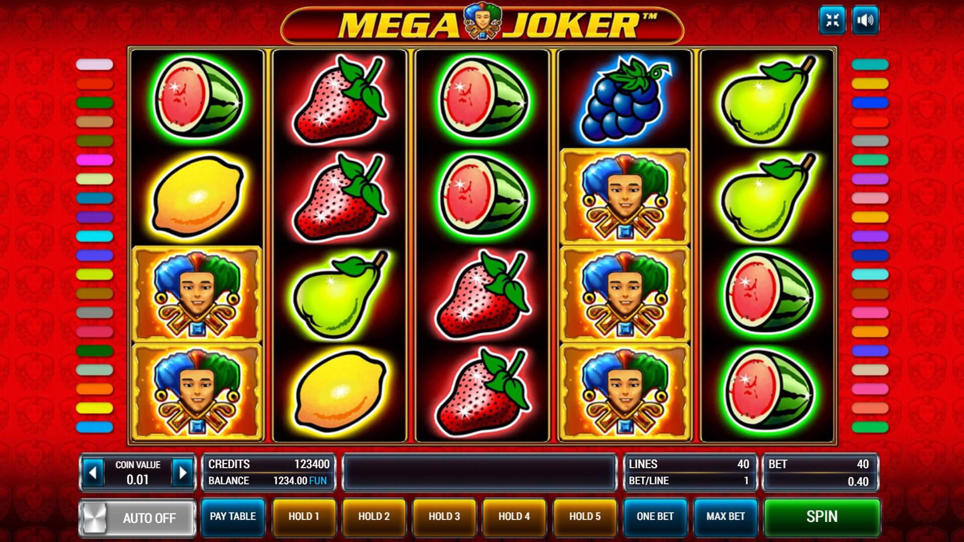 Изображение игрового автомата Mega Joker 3