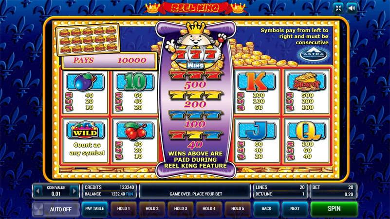 Изображение игрового автомата Reel King 3