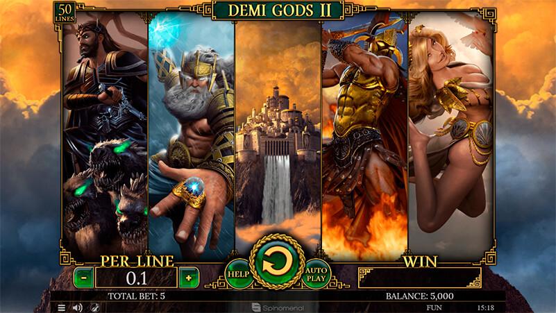 Изображение игрового автомата Demi Gods 2 1
