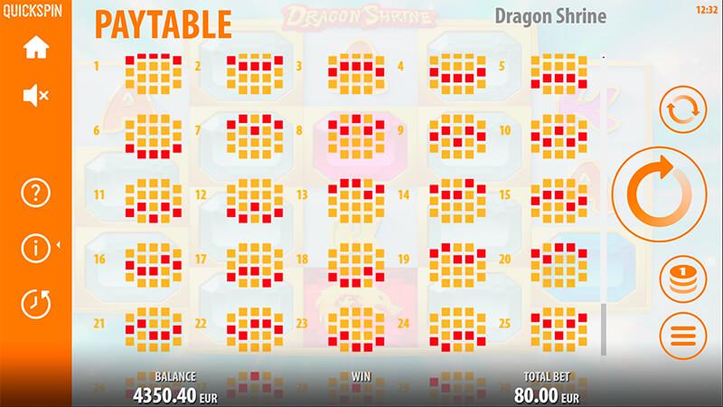 Изображение игрового автомата Dragon Shrine 3