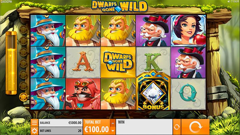 Изображение игрового автомата Dwarfs Gone Wild 1