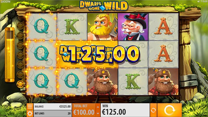 Изображение игрового автомата Dwarfs Gone Wild 2
