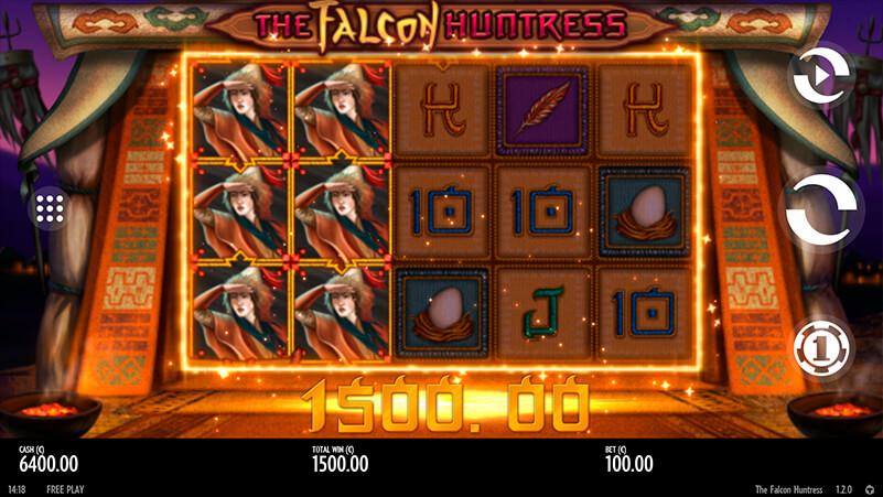 Изображение игрового автомата The Falcon Huntress 2