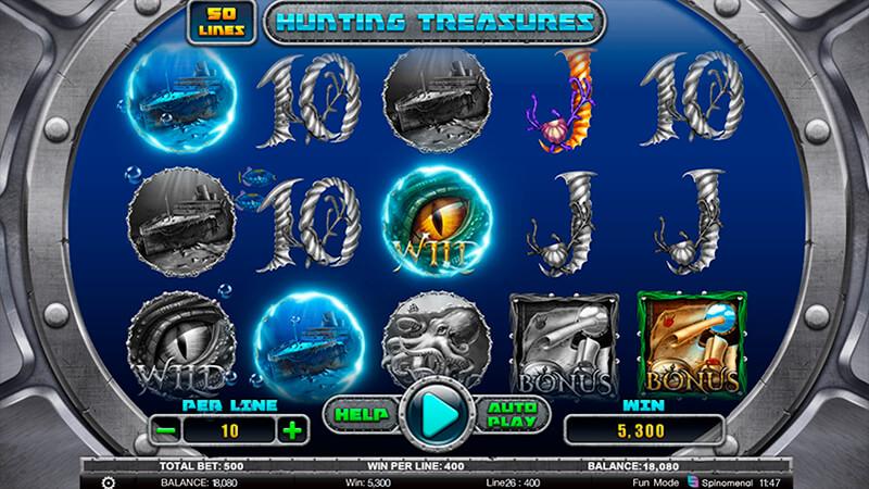 Изображение игрового автомата Hunting Treasures 2