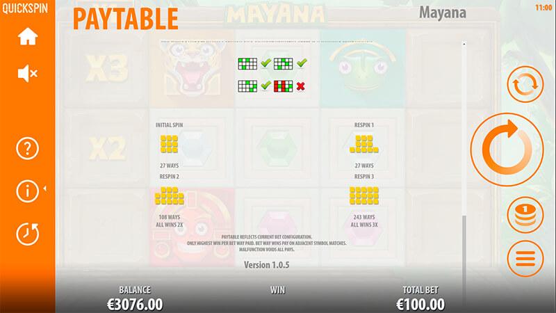 Изображение игрового автомата Mayana 3