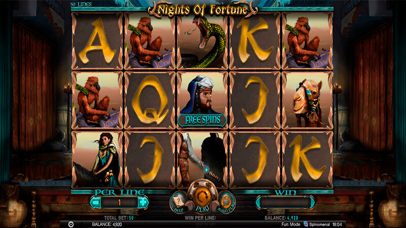 Изображение игрового автомата Nights Of Fortune 2