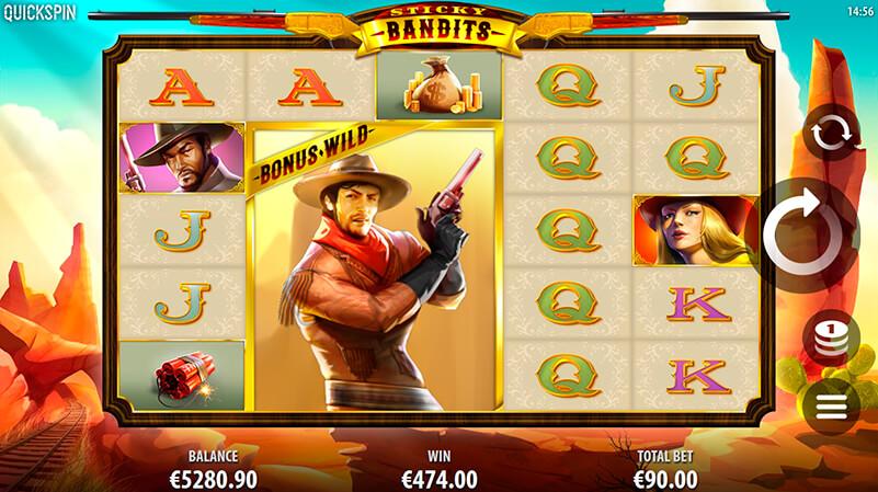 Изображение игрового автомата Sticky Bandits 1