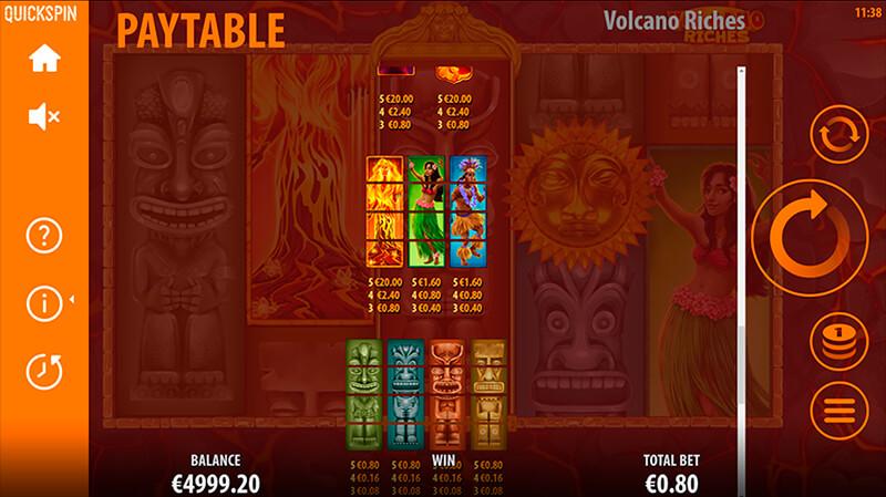 Изображение игрового автомата Volcano Riches 3