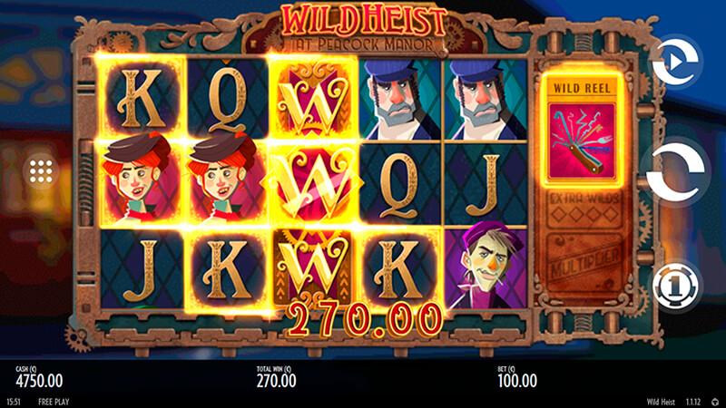Изображение игрового автомата Wild Heist at Peacock Manor 2