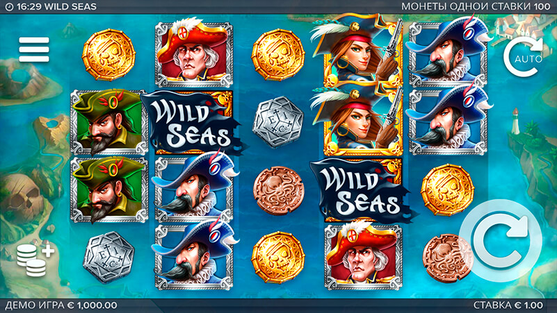 Изображение игрового автомата Wild Seas 1
