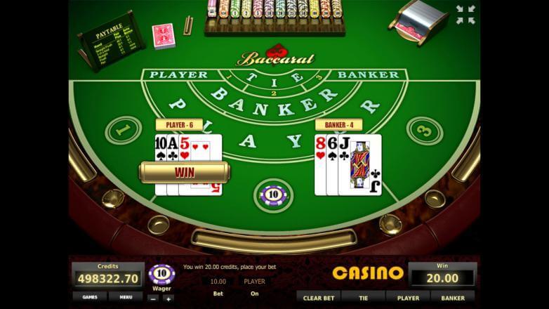 Изображение игрового автомата Baccarat 1
