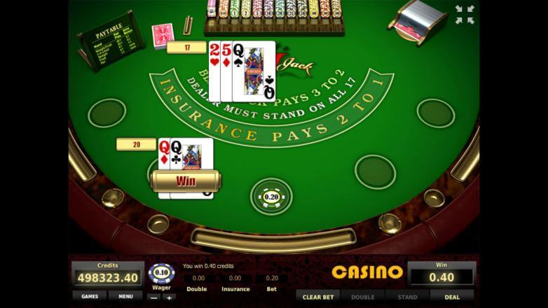 Изображение игрового автомата European Black Jack 2