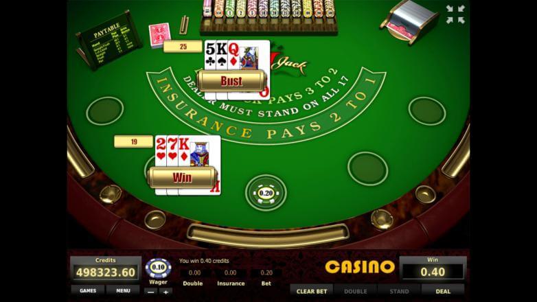 Изображение игрового автомата European Black Jack 3