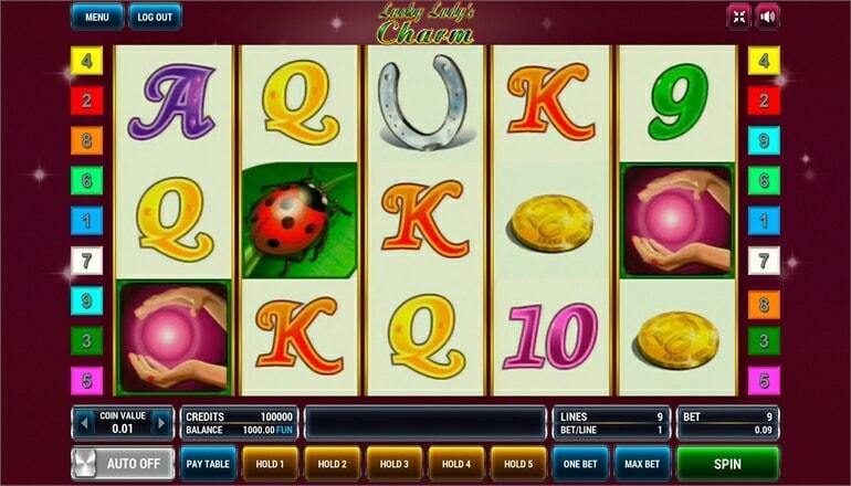 Изображение игрового автомата Lucky Lady's Charm 2