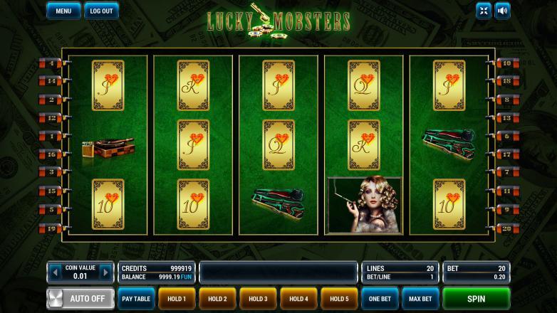 Изображение игрового автомата Lucky Mobsters 2