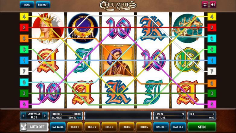 Изображение игрового автомата Columbus 1