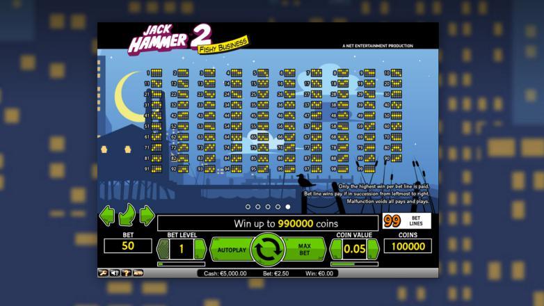 Изображение игрового автомата Jack Hammer 2 3
