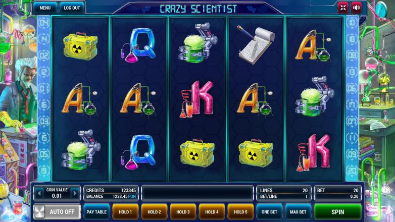 Изображение игрового автомата Crazy scientist 1